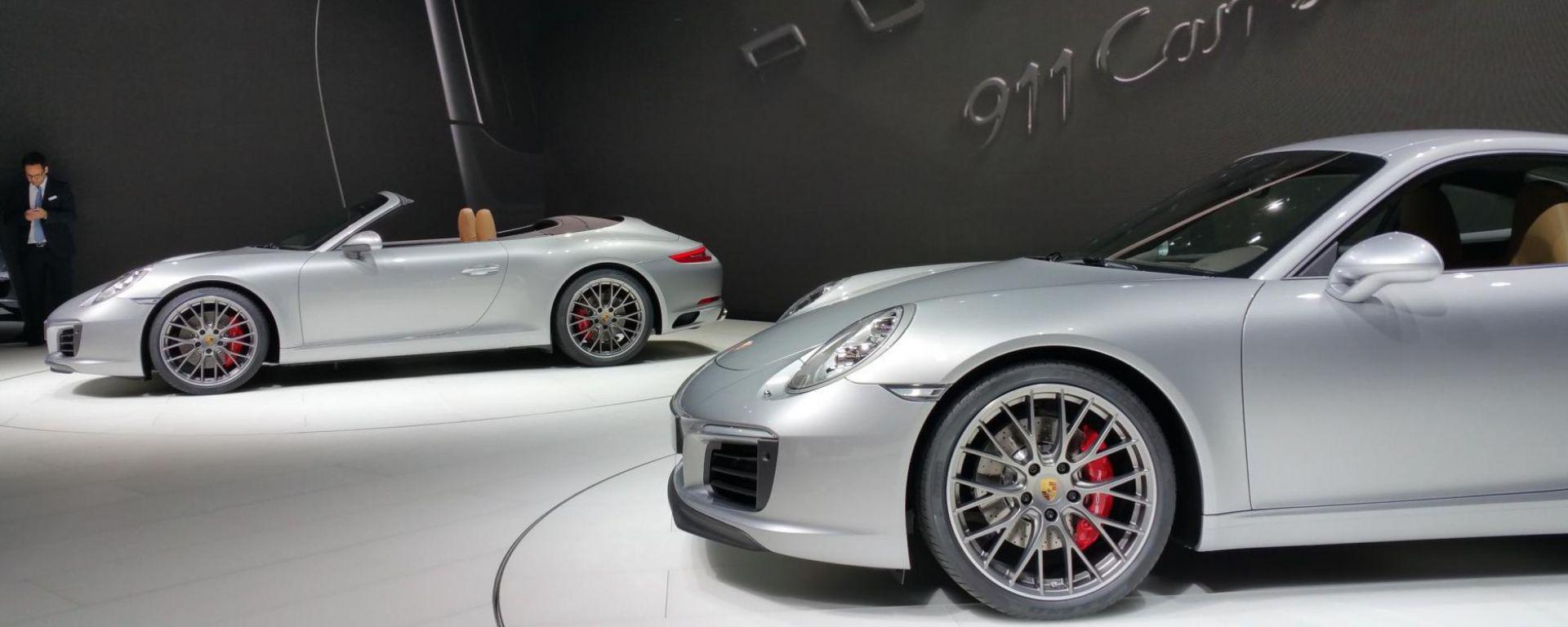 IAA Francoforte 2015: le novità Porsche