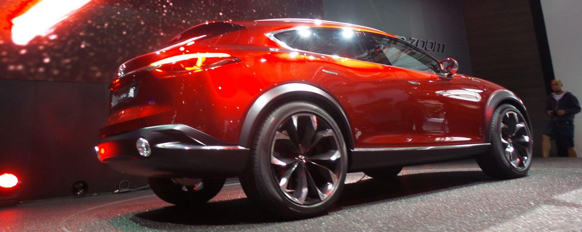IAA Francoforte 2015: che stile, la Mazda Koeru