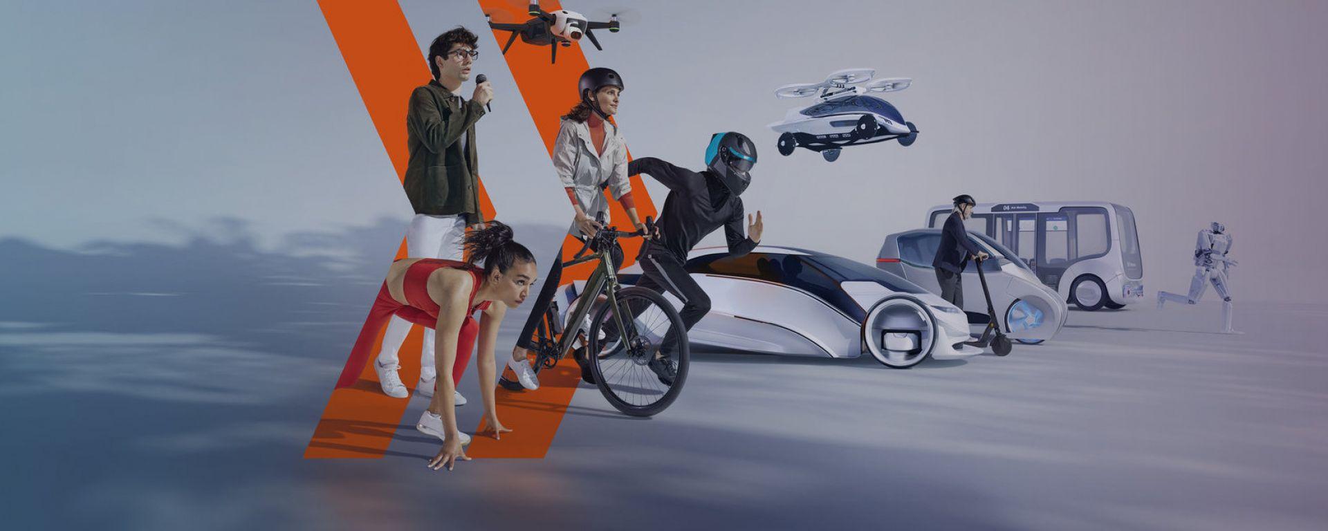 IAA Mobility 2021 (Monaco di Baviera, 7-12 settembre 2021), la locandina