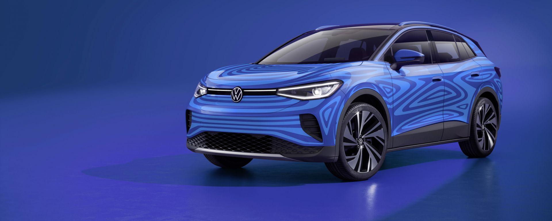 ID.4, il SUV elettrico compatto di Volkswagen