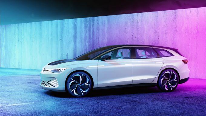 ID.Vizzion, la prima station wagon elettrica di Volkswagen