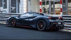 A Montecarlo la Ferrari 488 Pista Spider di Charles Leclerc
