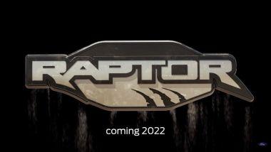 Il badge di Ford Bronco Raptor