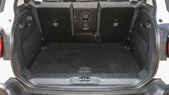 Il bagagliaio della Citroen C3 Aircross