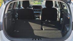 Il bagagliaio della Hyundai i20 1.0 T-GDi mild hybrid con frazionamento 60:40