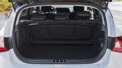 Il bagagliaio della Hyundai i20 1.0 T-GDi mild hybrid