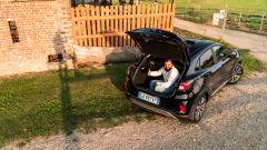 Il bagagliaio di Ford Puma Hybrid va da 401 litri a un Danilo di capacità