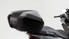 Il bauletto posteriore dell'Honda Forza 300 Limited Edition