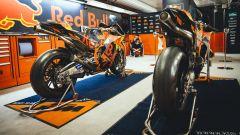 Il box Red Bull KTM