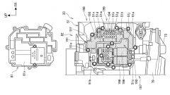 Il brevetto del nuovo motore bicilindrico Honda da 850 cc