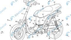 Il brevetto dello scooter elettrico di Suzuki