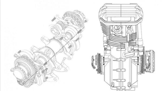 Il brevetto Harley-Davidson