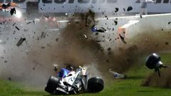Il bruttissimo incidente di Kubica con la BMW in Canada nel 2009