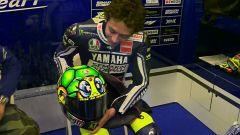Il casco AGV di Valentino Rossi al Mugello nel 2013