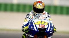 Valentino Rossi, video della collezione di caschi AGV