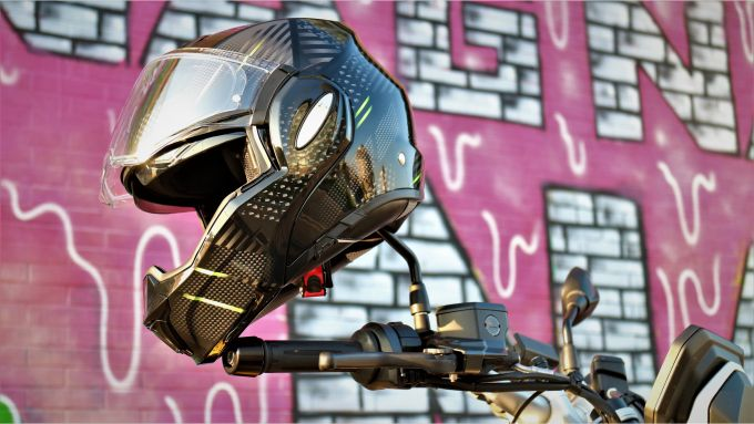 IL casco della prova: Scorpion Exo-Tech