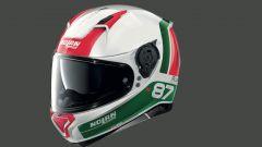 Il casco Nolan N87 PLUS nella colorazione tricolore