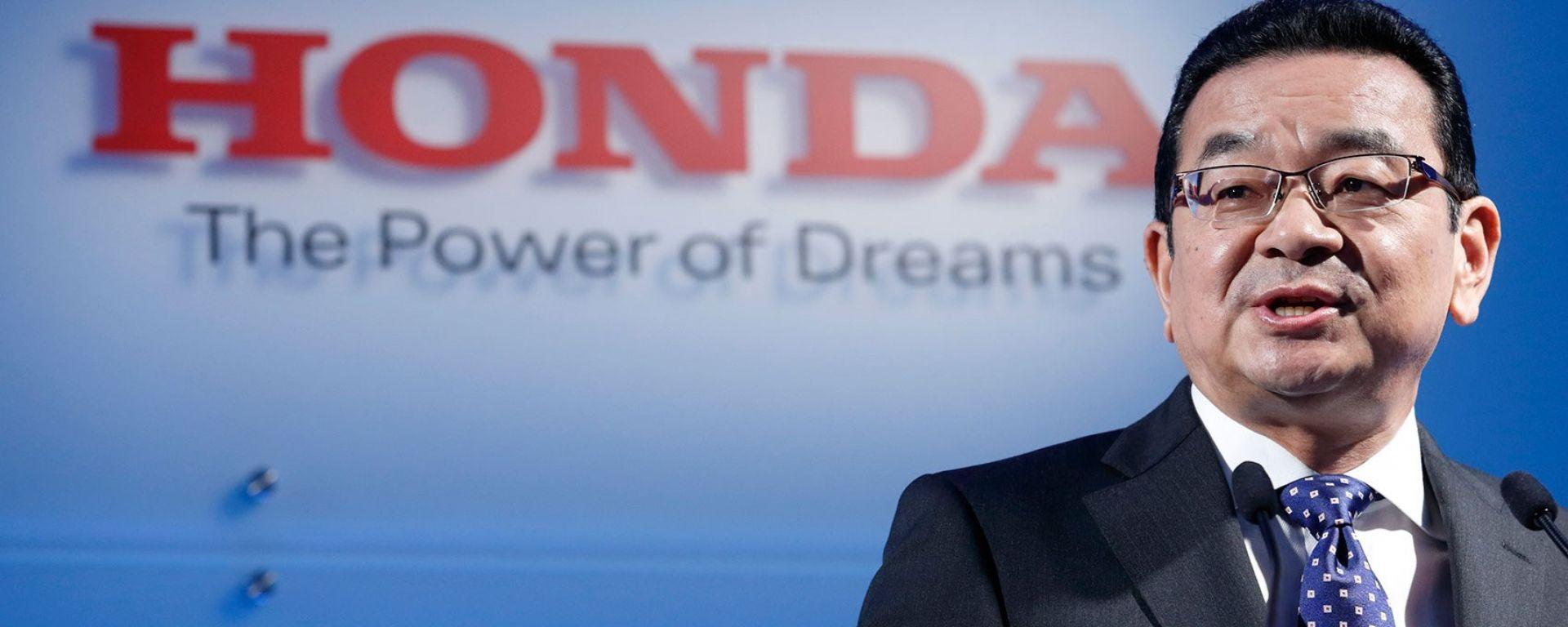 Il CEO di Honda Takahiro Hachigo