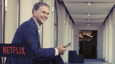 Il CEO di Netflix, Reed Hastings