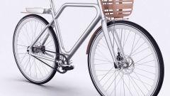 Il cestello anteriore della Angell Bike