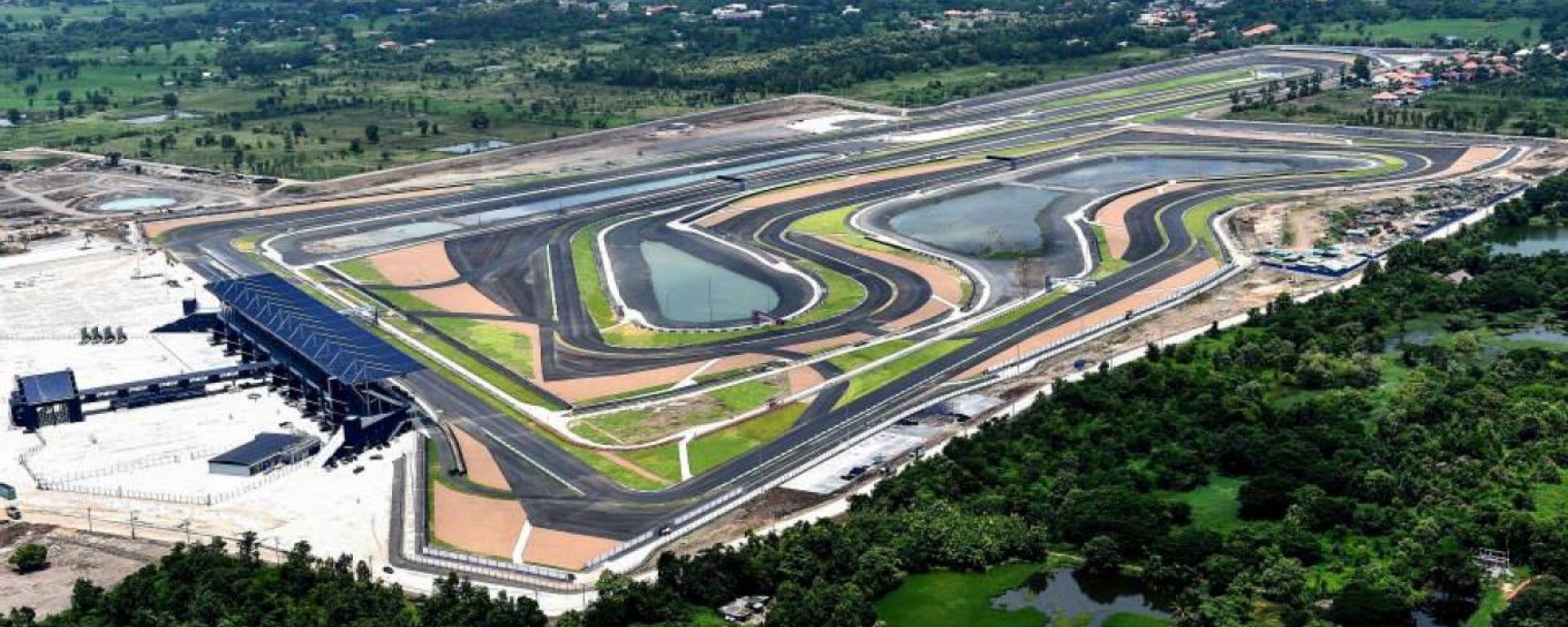 Il Chang International Circuit di Buriram, Thailandia