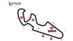 Il circuito del Motorland di Aragon ad Alcaniz
