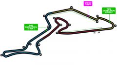 Il circuito del Nurburgring - GP Strecke