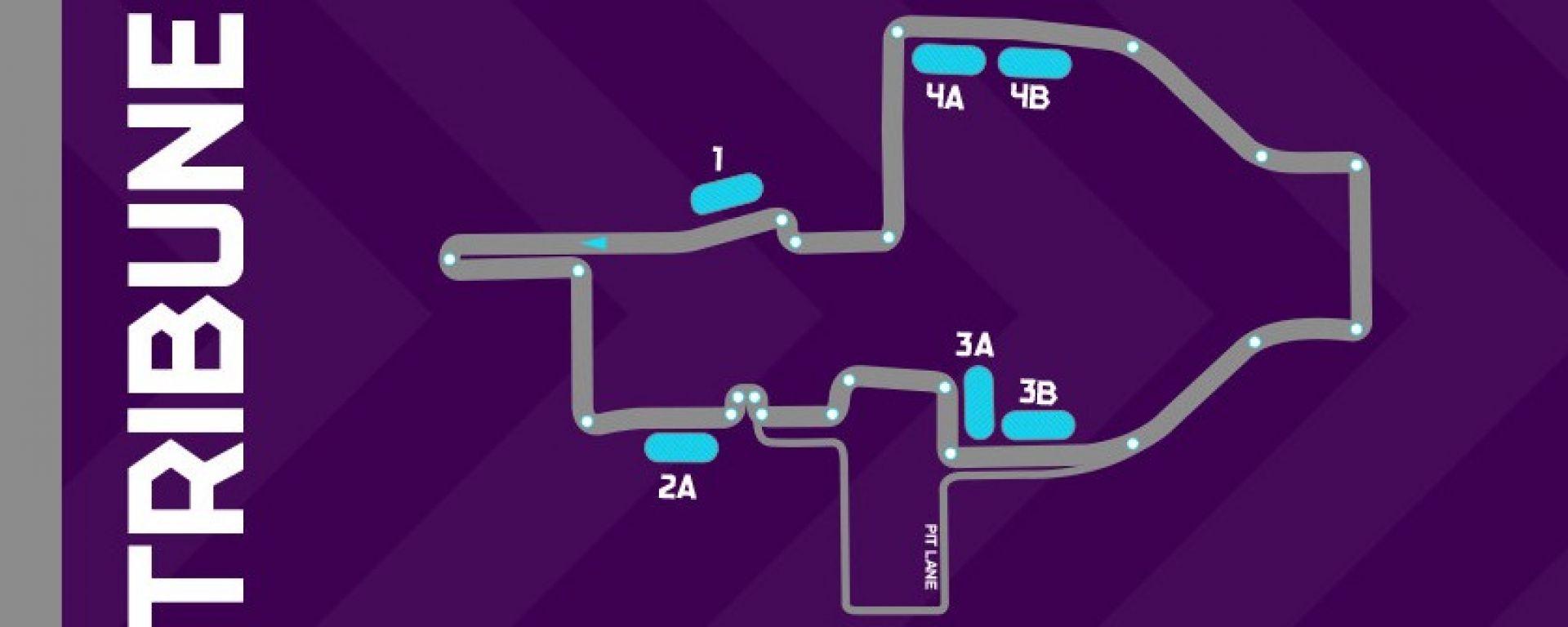 Il circuito dell'ePrix di Roma 2017/2018