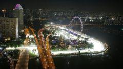 Il circuito di Singapore - F1 2016