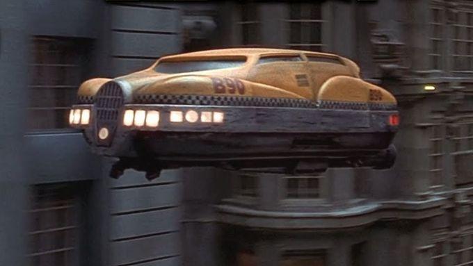 Il city cab del Quinto Elemento