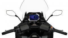 Il cockpit del Kymco CV3