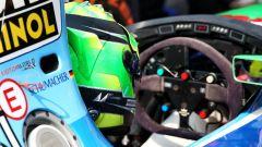 Il cockpit della Benetton B194