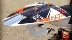Il codone della KTM RC 1290 R: la special costruita da un telaio della RC8 e il telaio della 1290 Super Duke R