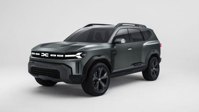 Il concept Dacia Bigster