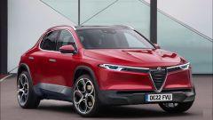 Il concept grafico di nuova Alfa Romeo Brennero