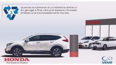 Il concessionario Honda prende la batteria in carico a fine ciclo