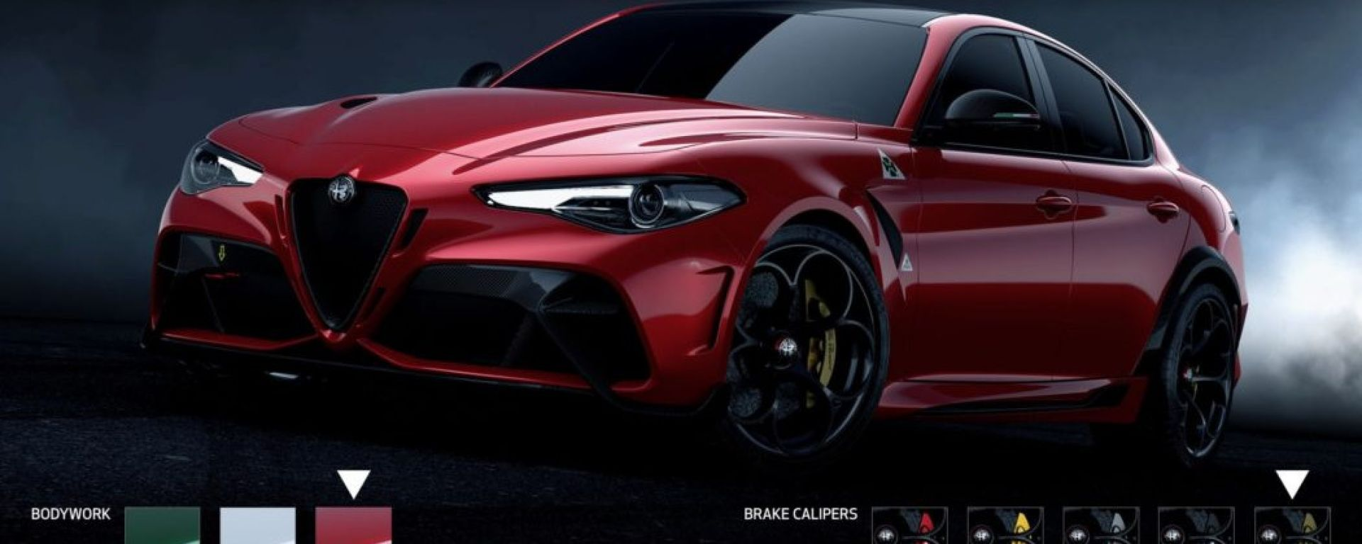 Il configuratore di Alfa Romeo Giulia GTA