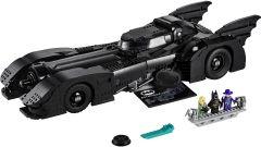 Il contenuto del set della Batmobile LEGO