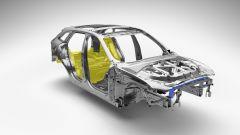Il corpo vettura della Jaguar F-Pace è composto per l'80% di alluminio