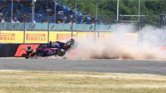 Il crash spaventoso di Hartley - GP Gran Bretagna 2018
