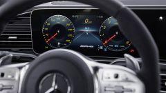 Il cruscotto specifico del Mercedes AMG GLS 63