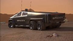 Il Cybertruck Tesla per andare su Marte