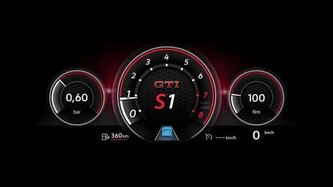 Il digital cockpit di Golf GTI 2020
