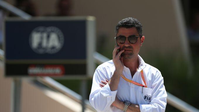Il direttore di gara della F1, Michael Masi