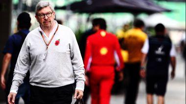 Il direttore sportivo della F1, Ross Brawn