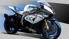 Il disegno della BMW HP4 Race - EICMA 2016