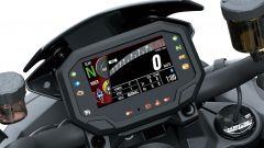 Il display della Kawasaki Z H2 SE 2021