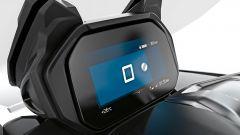 Il display LCD di BMW C400 GT Online Edition
