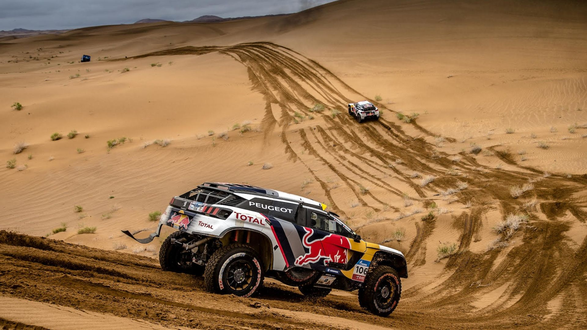 silk way rally 2017 peugeot 3008 dkr conquista le dune. Black Bedroom Furniture Sets. Home Design Ideas