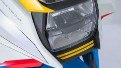 Il fanale anteriore della Brand New Jack, la special di Icon su base Suzuki Katana